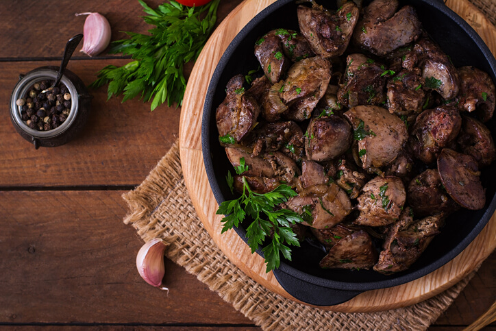 Including this chicken liver in your diet can help alleviate autoimmune disease.