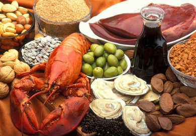 This nutrient-dense meal includes organ meat and shellfish.